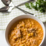 Chipotle Chorizo Corn Chowder