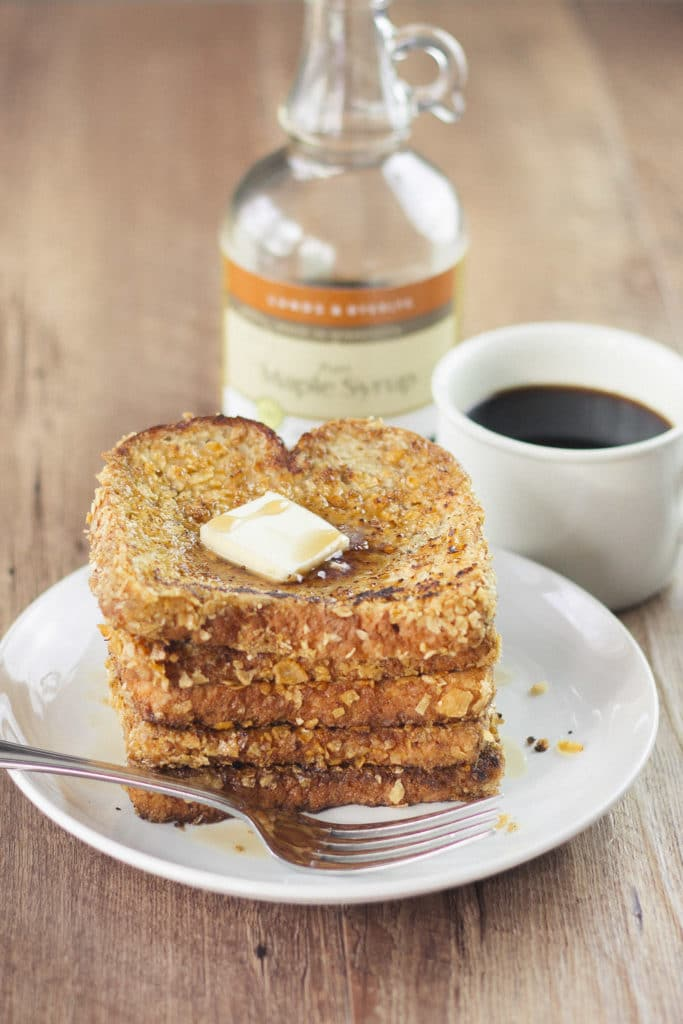 Rum Crunch French Toast