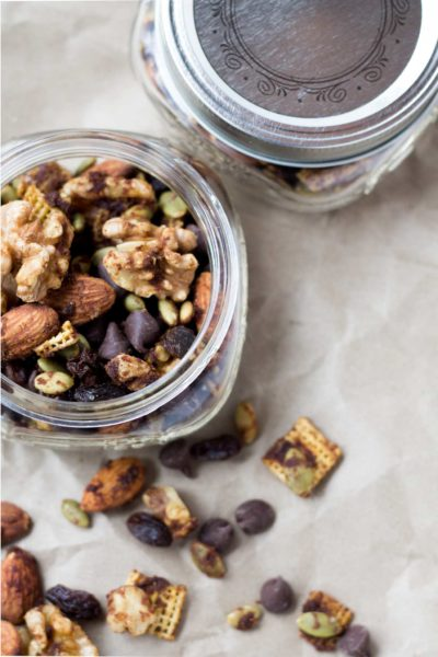 Pumpkin Spice Trail Mix | Perfect for a fall afternoon snack and energy boost.