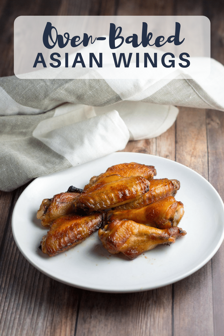 Oven-baked Asian chicken wings | A simple and delicious crowd-pleaser for your next party.