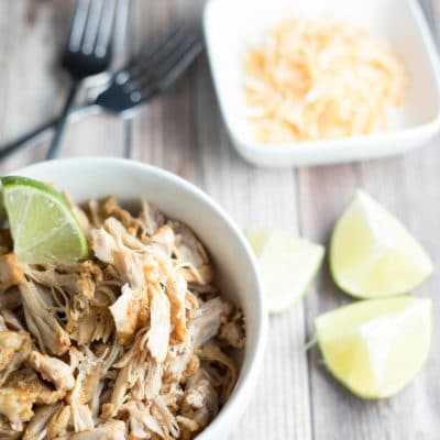 Instant Pot Chili Lime Chicken